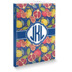 Pomegranates & Lemons Softbound Notebook (Personalized)