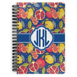 Pomegranates & Lemons Spiral Notebook (Personalized)