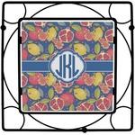 Pomegranates & Lemons Square Trivet (Personalized)
