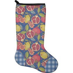 Pomegranates & Lemons Holiday Stocking - Neoprene (Personalized)