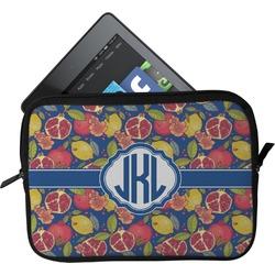 Pomegranates & Lemons Tablet Case / Sleeve (Personalized)