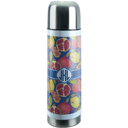 Pomegranates & Lemons Stainless Steel Thermos (Personalized)