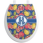 Pomegranates & Lemons Toilet Seat Decal (Personalized)
