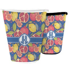 Pomegranates & Lemons Waste Basket (Personalized)