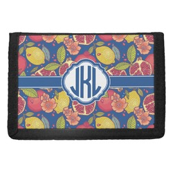 Pomegranates & Lemons Trifold Wallet (Personalized)