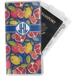 Pomegranates & Lemons Travel Document Holder