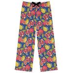 Pomegranates & Lemons Womens Pajama Pants (Personalized)