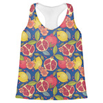 Pomegranates & Lemons Womens Racerback Tank Top (Personalized)