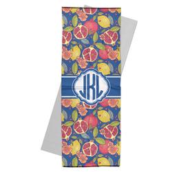 Pomegranates & Lemons Yoga Mat Towel (Personalized)