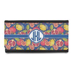Pomegranates & Lemons Leatherette Ladies Wallet (Personalized)