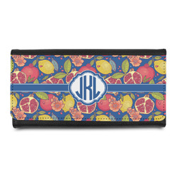 Pomegranates & Lemons Leatherette Ladies Wallet (Personalized)