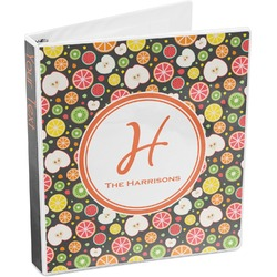 Apples & Oranges 3-Ring Binder (Personalized)