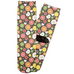 Apples & Oranges Adult Crew Socks (Personalized)