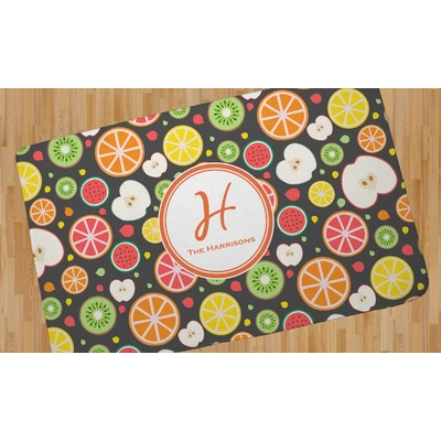 Apples & Oranges Area Rug (Personalized)