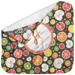 Apples & Oranges Baby Hooded Towel (Personalized)