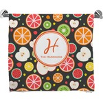 Apples & Oranges Full Print Bath Towel (Personalized)