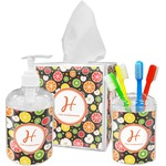 Apples & Oranges Bathroom Accessories Set (Personalized)
