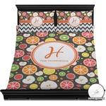 Apples & Oranges Duvet Cover Set (Personalized)