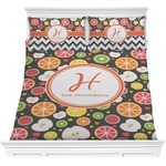 Apples & Oranges Comforter Set (Personalized)