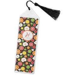 Apples & Oranges Book Mark w/Tassel (Personalized)