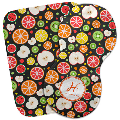 Apples & Oranges Burp Cloth (Personalized)
