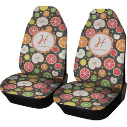 Apples & Oranges Car Seat Covers (Set of Two) (Personalized)