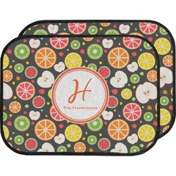 Apples & Oranges Car Floor Mats (Back Seat) (Personalized)