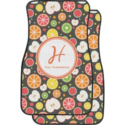 Apples & Oranges Car Floor Mats (Front Seat) (Personalized)