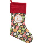 Apples & Oranges Christmas Stocking (Personalized)