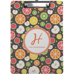 Apples & Oranges Clipboard (Personalized)