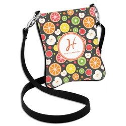 Apples & Oranges Cross Body Bag - 2 Sizes (Personalized)