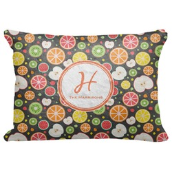 """Apples & Oranges Decorative Baby Pillowcase - 16""""x12"""" (Personalized)"""