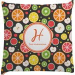 Apples & Oranges Decorative Pillow Case (Personalized)