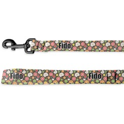 Apples & Oranges Deluxe Dog Leash (Personalized)