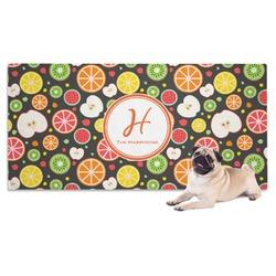 Apples & Oranges Pet Towel (Personalized)