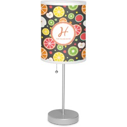 """Apples & Oranges 7"""" Drum Lamp with Shade (Personalized)"""