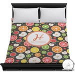 Apples & Oranges Duvet Cover (Personalized)
