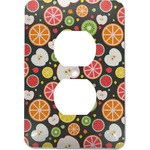 Apples & Oranges Electric Outlet Plate (Personalized)