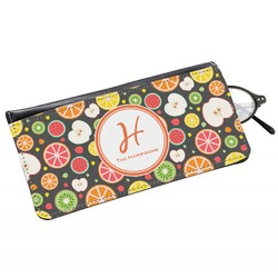 Apples & Oranges Genuine Leather Eyeglass Case (Personalized)