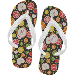 Apples & Oranges Flip Flops (Personalized)