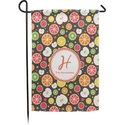 Apples & Oranges Garden Flags With Pole - Single or Double Sided (Personalized)