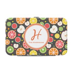 Apples & Oranges Genuine Leather Small Framed Wallet (Personalized)
