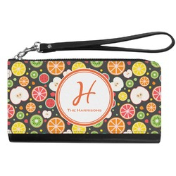 Apples & Oranges Genuine Leather Smartphone Wrist Wallet (Personalized)