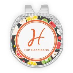 Apples & Oranges Golf Ball Marker - Hat Clip