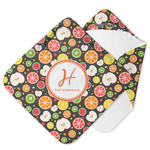Apples & Oranges Hooded Baby Towel (Personalized)