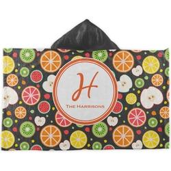 Apples & Oranges Kids Hooded Towel (Personalized)