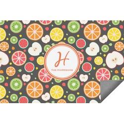 Apples & Oranges Indoor / Outdoor Rug - 3'x5' (Personalized)