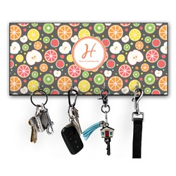 Apples & Oranges Key Hanger w/ 4 Hooks (Personalized)