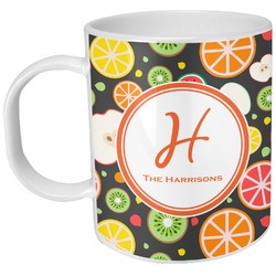 Apples & Oranges Plastic Kids Mug (Personalized)