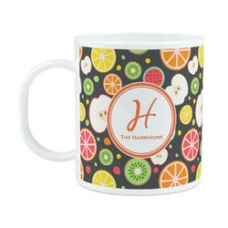 Apples & Oranges Plastic Kids Mug (Personalized)